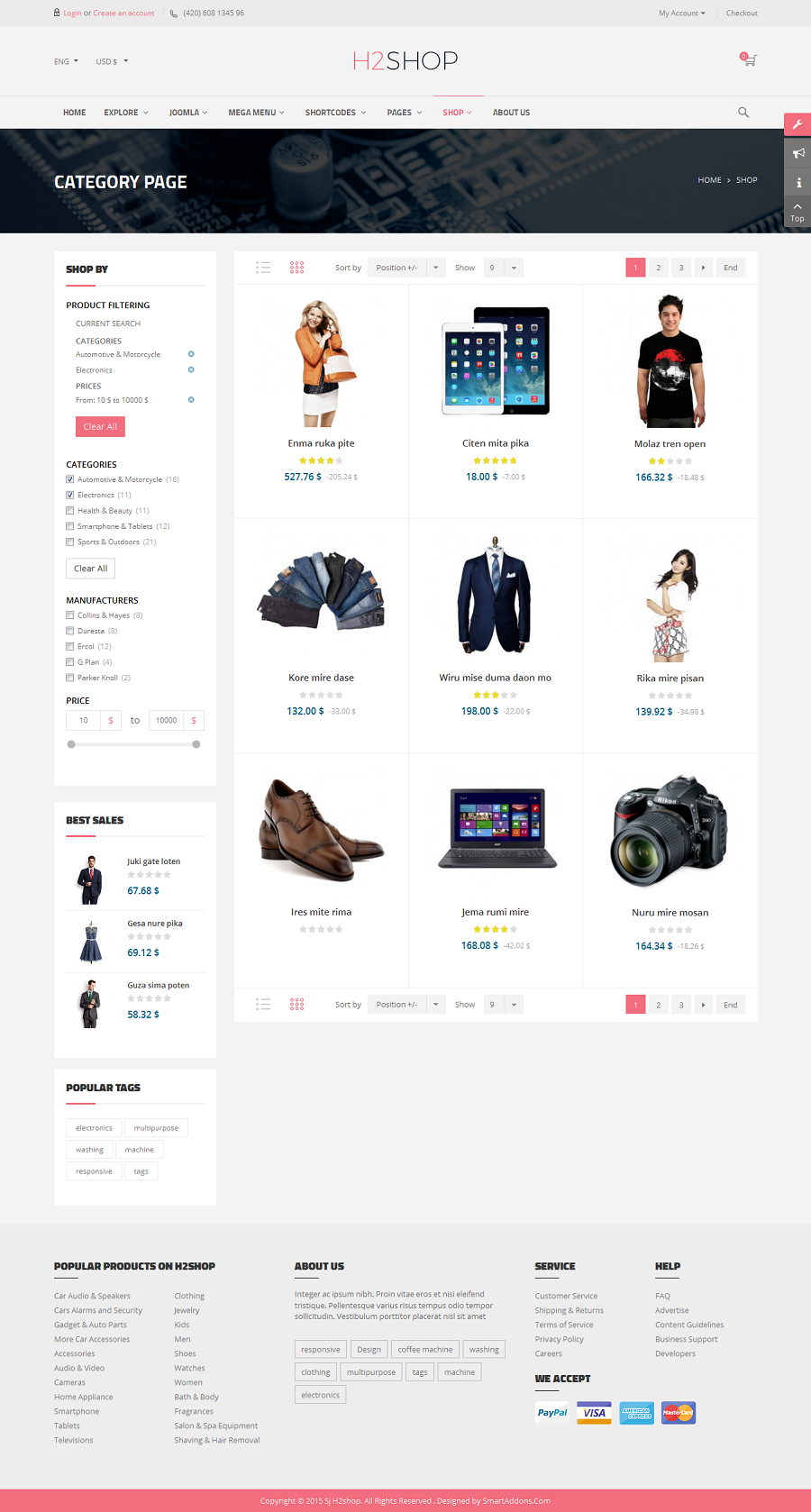 SJ H2shop - Responsive Joomla eCommerce Template - 03_category-page.png