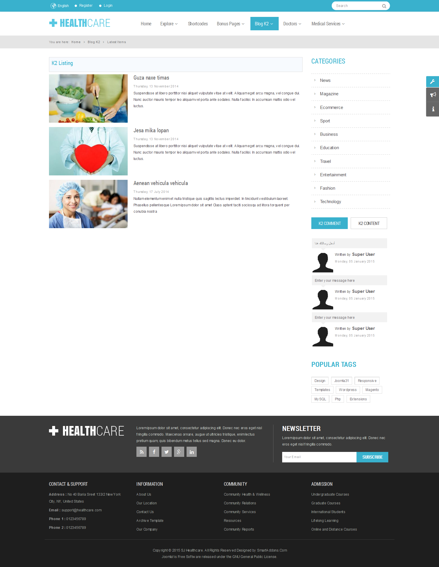 SJ Healthcare - Responsive Joomla Medical Health Template - 03_latest-item.png