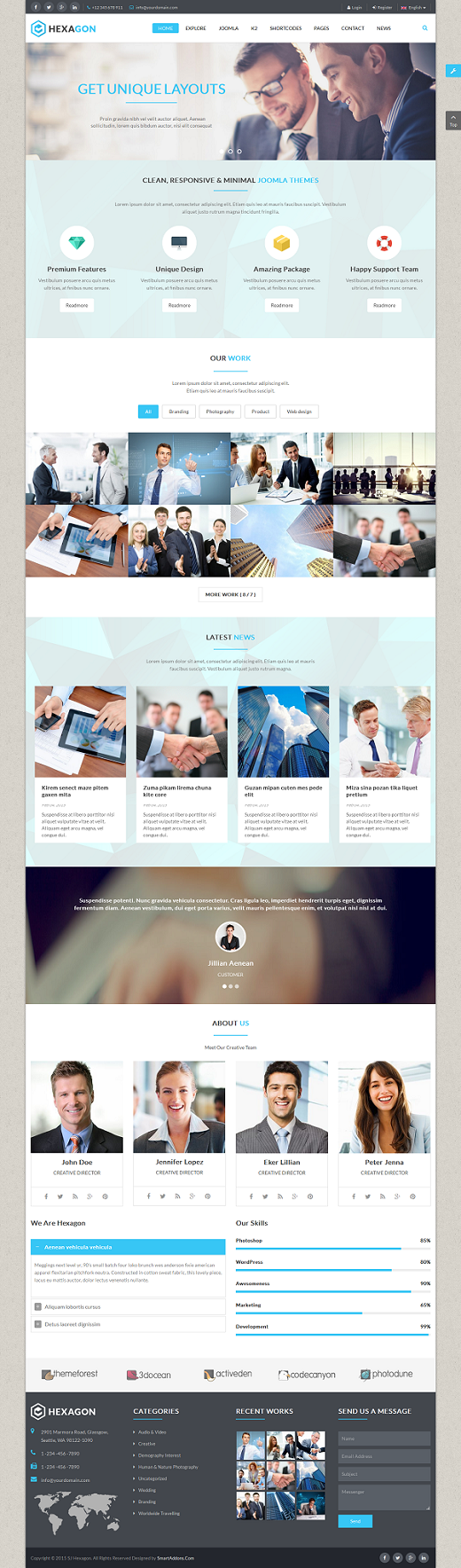 SJ Hexagon - Responsive Joomla Business Template - 03_layout1-boxed.png