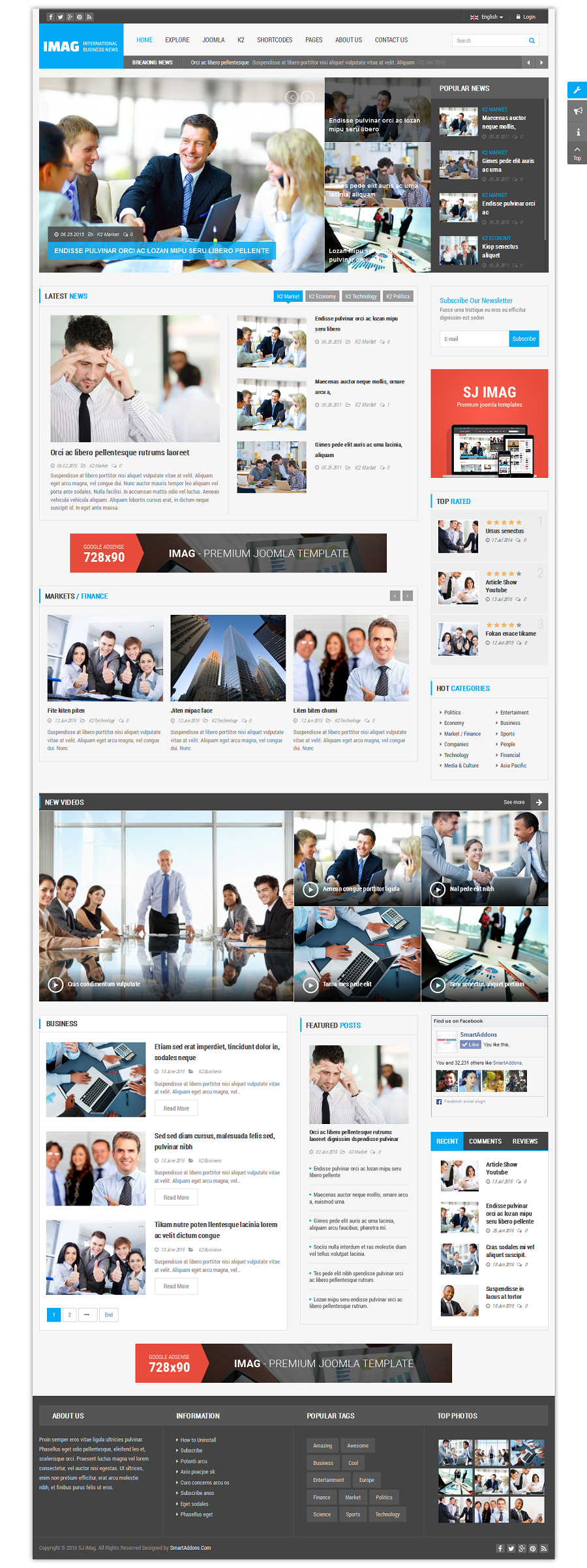 SJ iMag - Responsive Joomla News magazine Template - 09_framed-layout.png