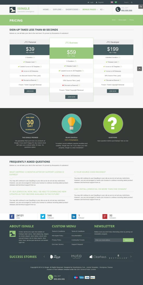 SJ iSingle - Responsive Joomla Business Template - 14-pricing.jpg