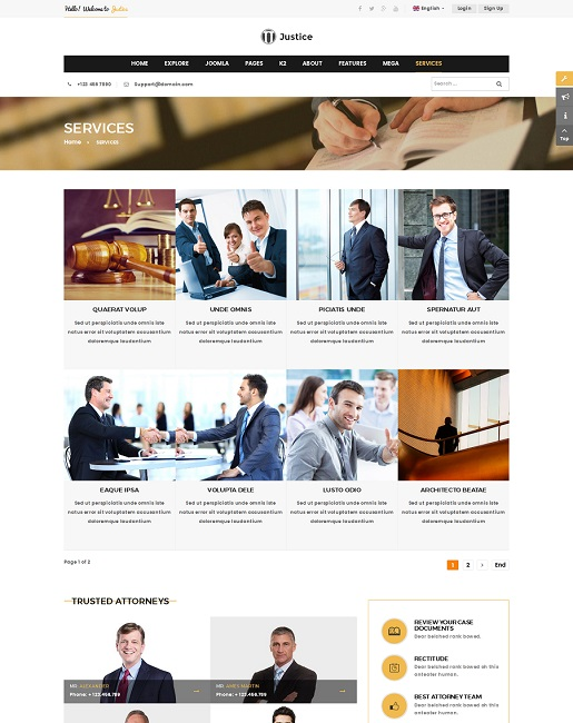 SJ Justice - Responsive Law Firm Joomla Template - 06_services_page.jpg