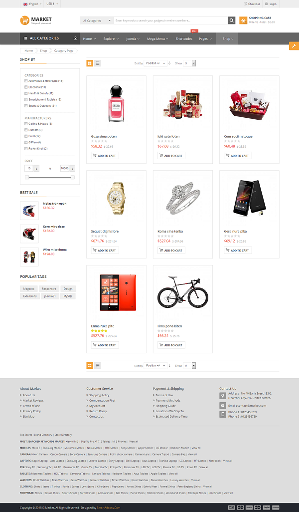 SJ Market - Responsive Joomla eCommerce Template - 06_product-listing-grid.png