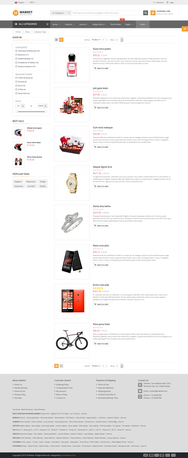 SJ Market - Responsive Joomla eCommerce Template - 07_product-listing-list.png
