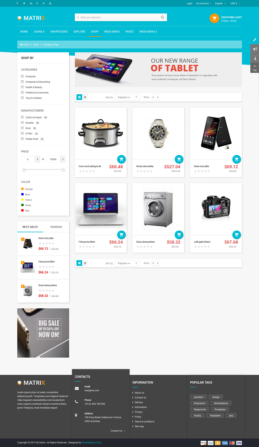 SJ Matrix - Responsive Joomla eCommerce Template - 06_category-page.png