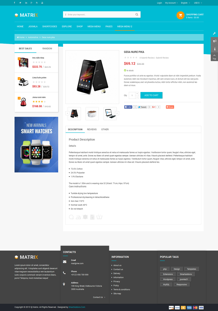 SJ Matrix - Responsive Joomla eCommerce Template - 07_product-detail.png