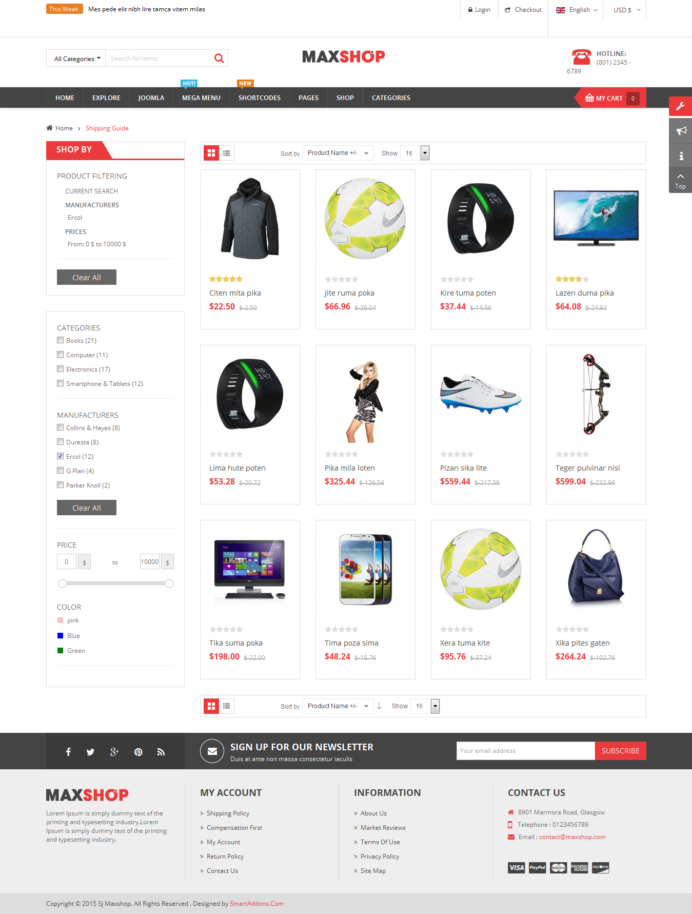 SJ Maxshop - Responsive Joomla Multipurpose eCommerce Template - 09_category-page.png