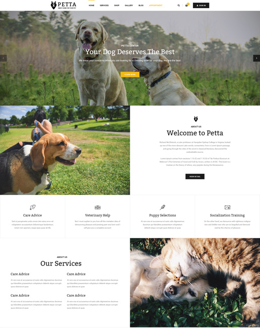 SJ Petta - Responsive Joomla Pet Care Service Template - 01_Index.jpg