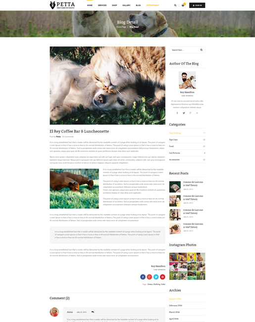 SJ Petta - Responsive Joomla Pet Care Service Template - 04_Blog_Detail.jpg