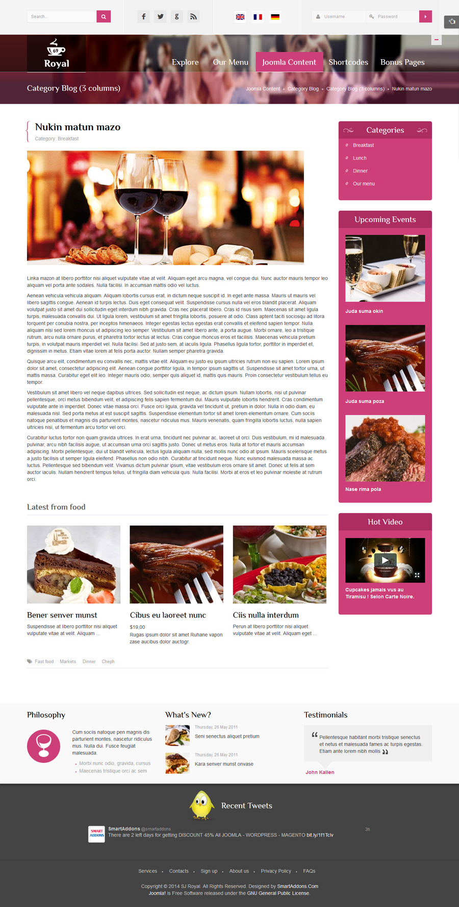 SJ Royal - Responsive Joomla Restaurant, Hotel Template - 10-detail-article.jpg