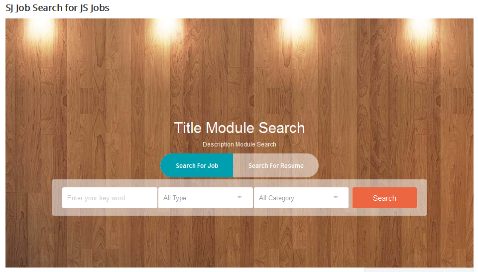 SJ Search Job for JS Jobs - Responsive Joomla! Module - 01.png
