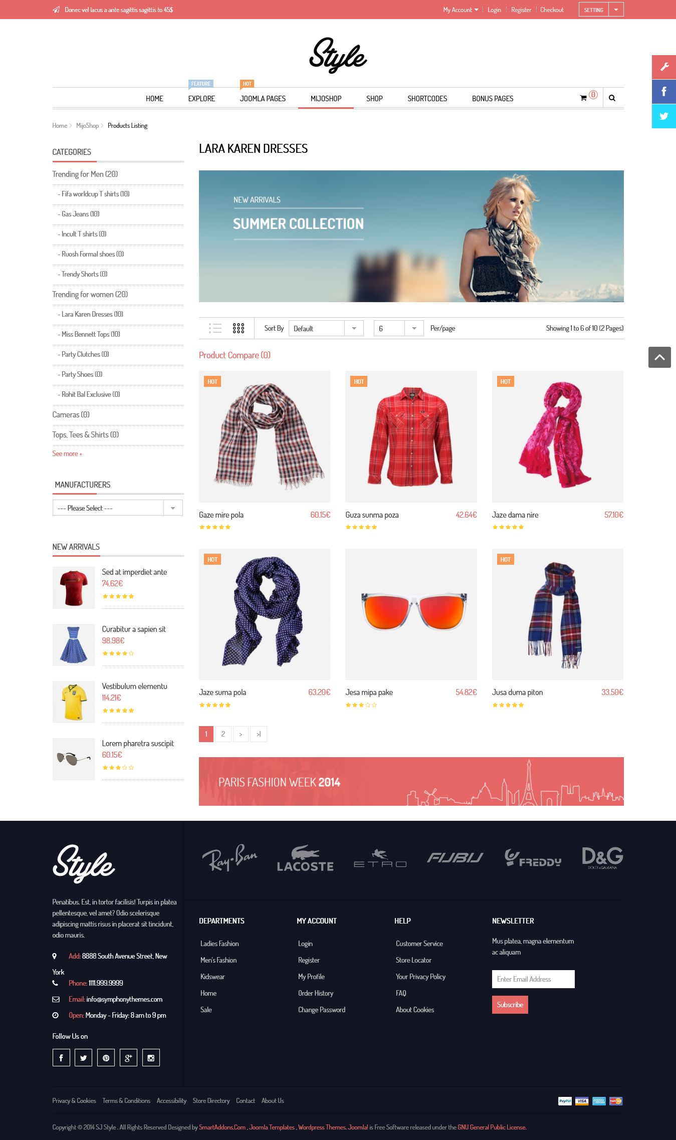 SJ Style - Responsive Joomla eCommerce Template - Mijoshop-product-listing-gridview.jpg