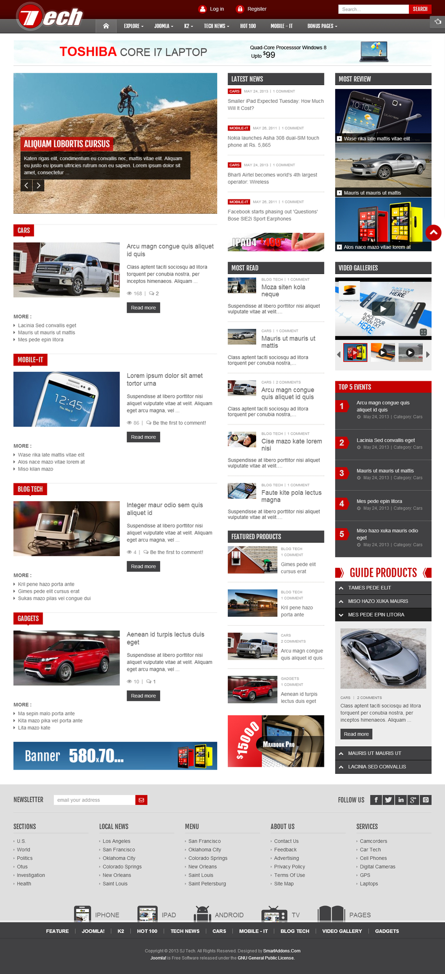 SJ Tech - Responsive Joomla news magazine Template for Tech - 01index.jpg