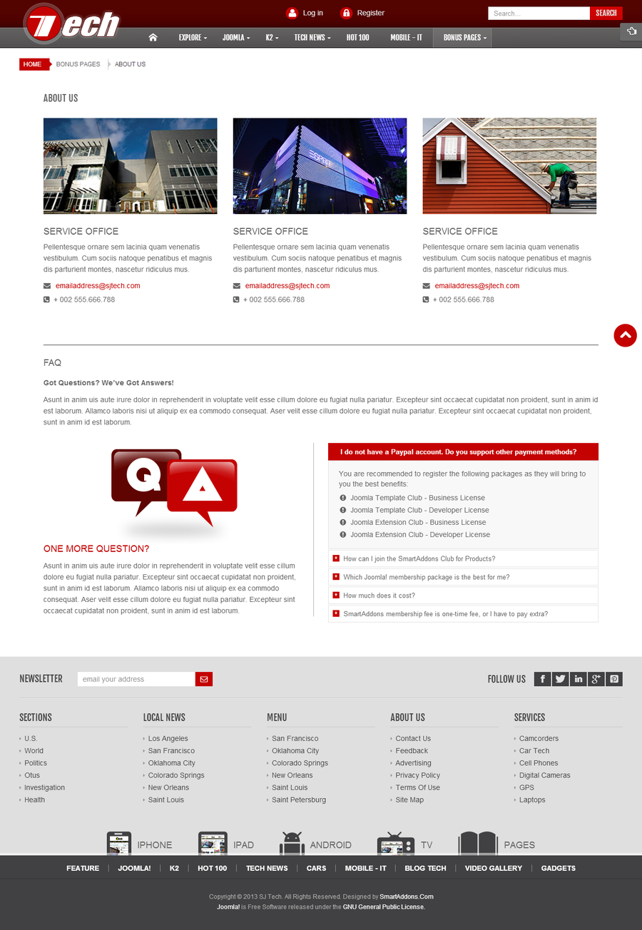 SJ Tech - Responsive Joomla news magazine Template for Tech - 10pageabout.jpg
