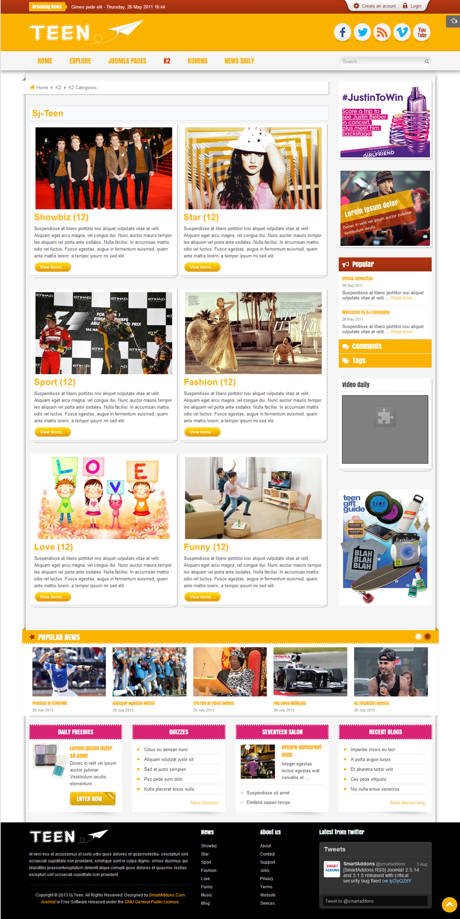 SJ Teen - Responsive Joomla Template for youth age magazine - 07k2-cate.jpg
