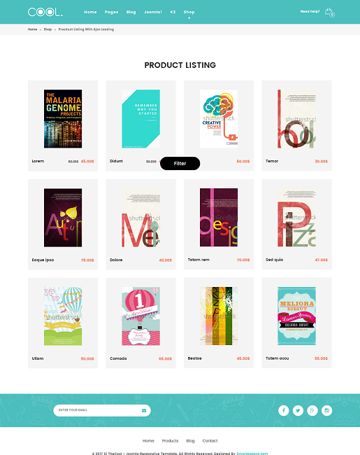 SJ TheCool Pro - Responsive One Page Book Store Joomla Template - 04_product-listing-ajaxload.png