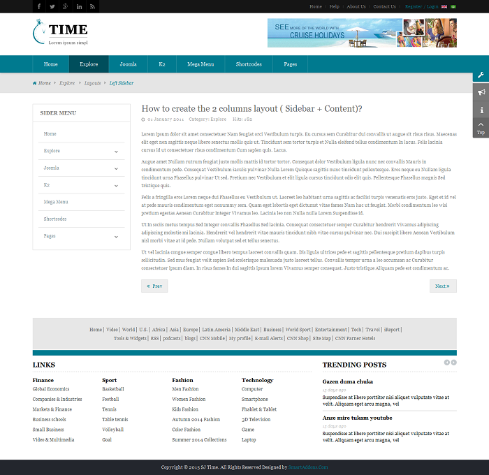 SJ Time - Responsive Joomla News Magazine Template - 04_layout_left-sidebar.png