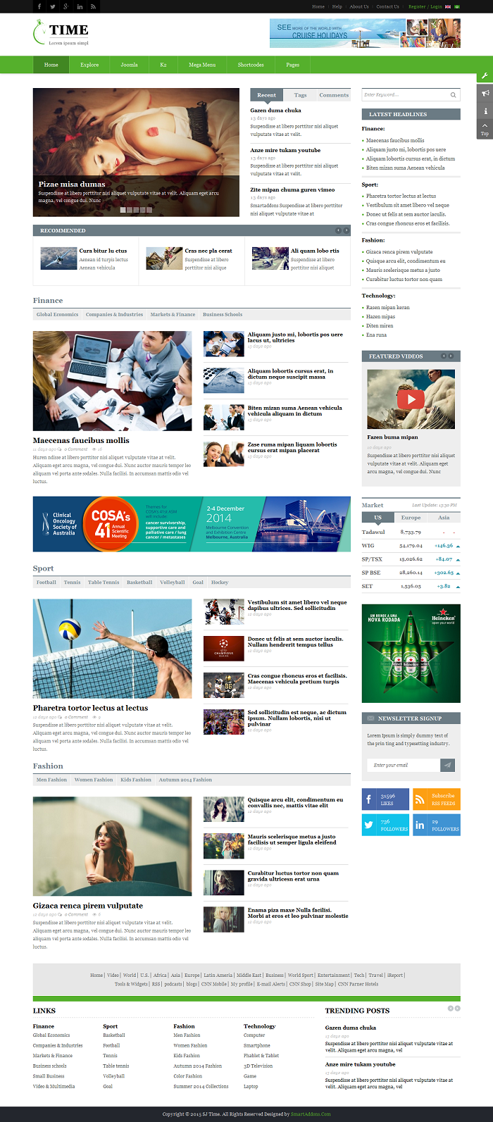 SJ Time - Responsive Joomla News Magazine Template - 13_index-green.png