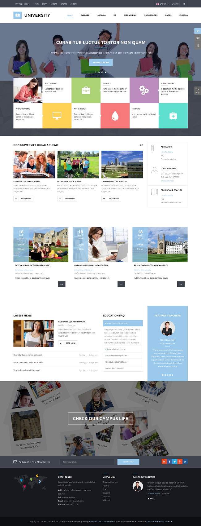 SJ University II - Responsive Joomla Educational Template - 02_index-default.png