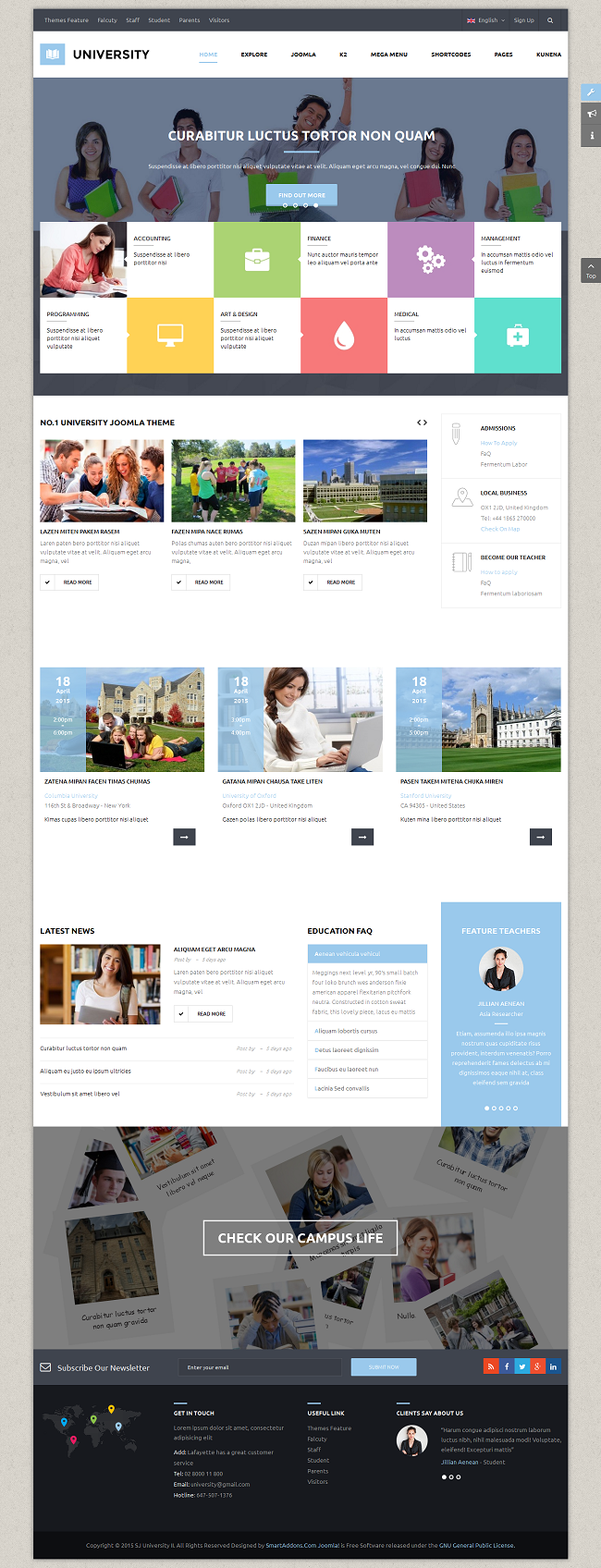 SJ University II - Responsive Joomla Educational Template - 04_index-framed.png