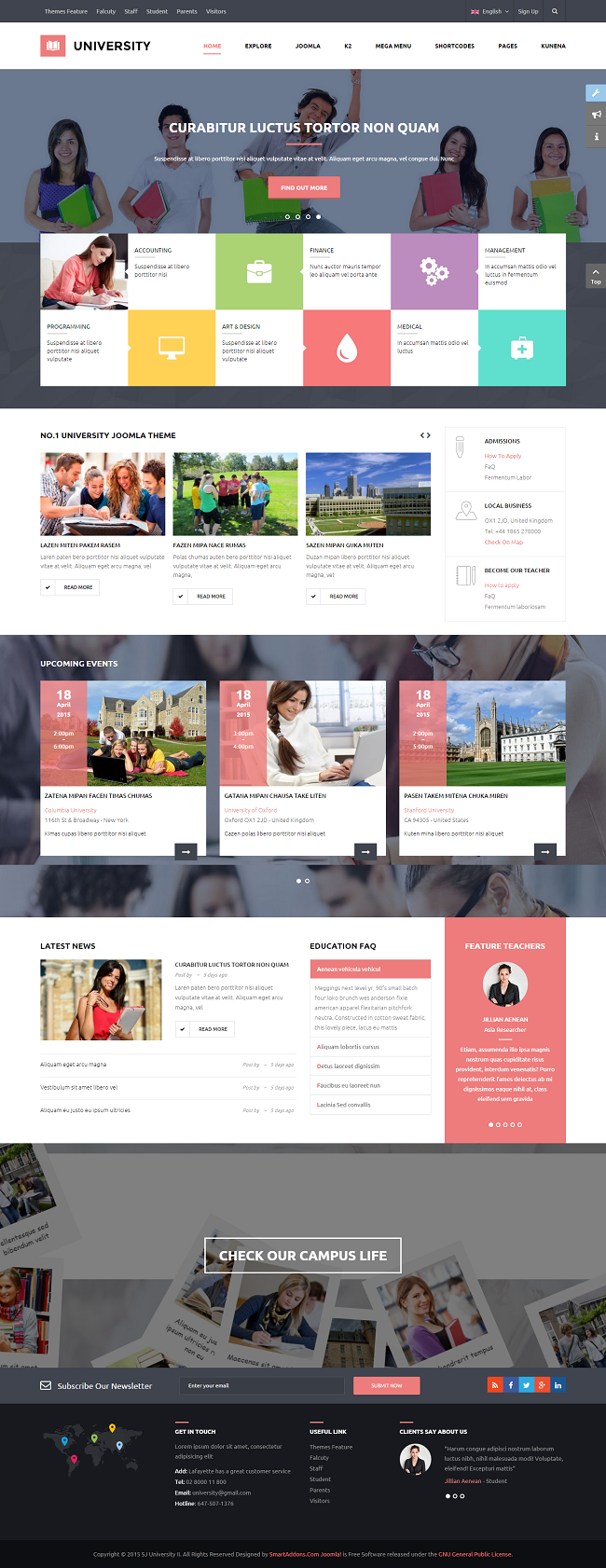SJ University II - Responsive Joomla Educational Template - 07_red.png