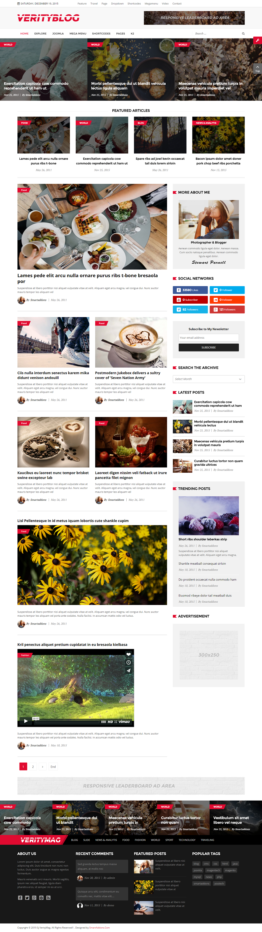 SJ VerityMag - Free Responsive Joomla news magazine Template - 03_home2.png