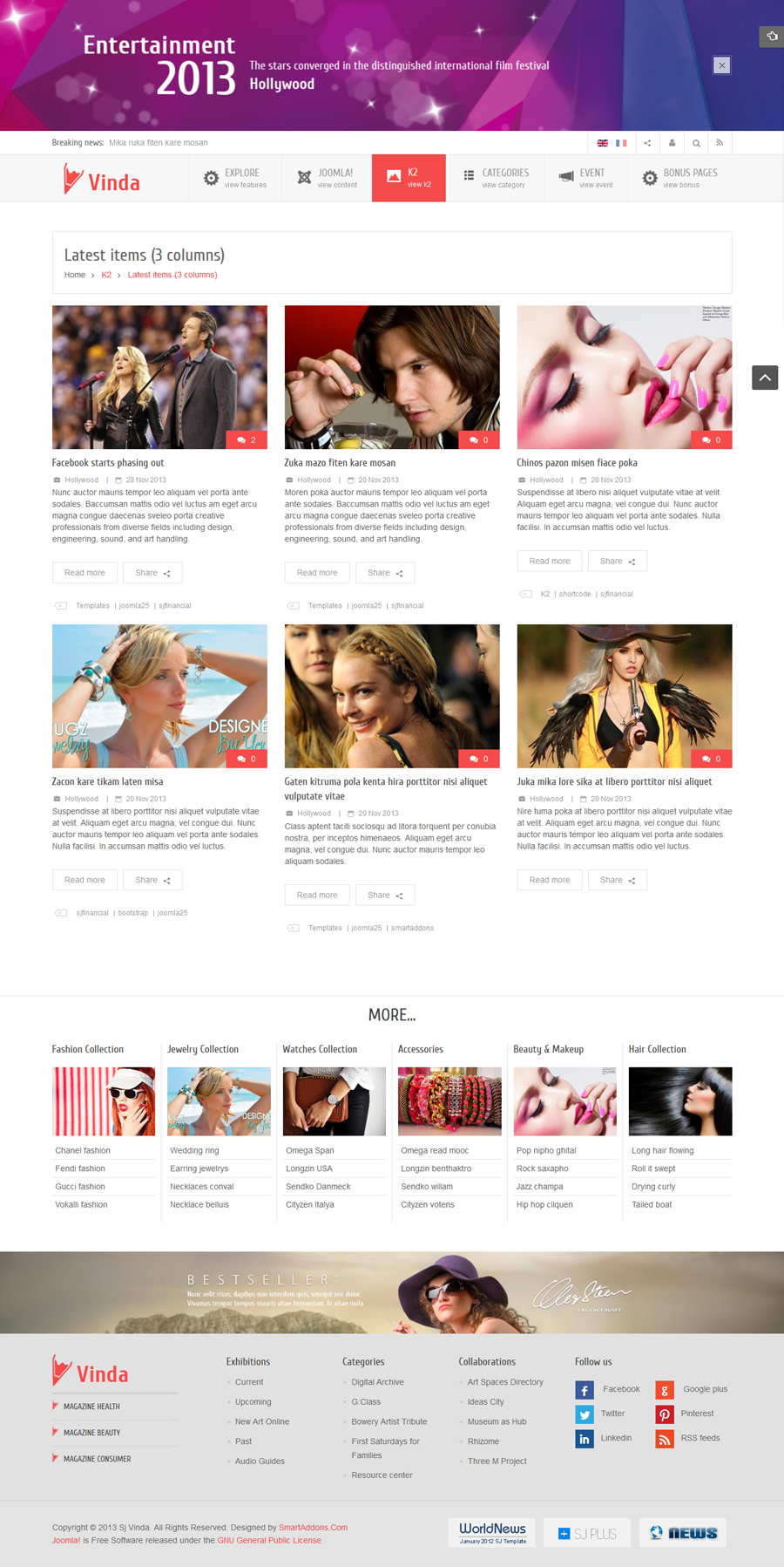 SJ Vinda - Free Joomla Entertainment Template - 07-3columns.png