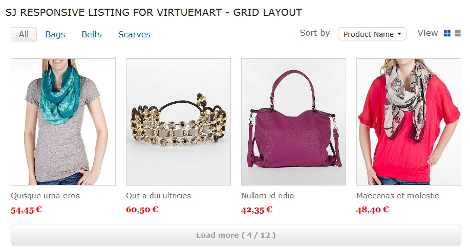 SJ Responsive Listing for VirtueMart - Joomla! Module - 01-grid-layout1.png