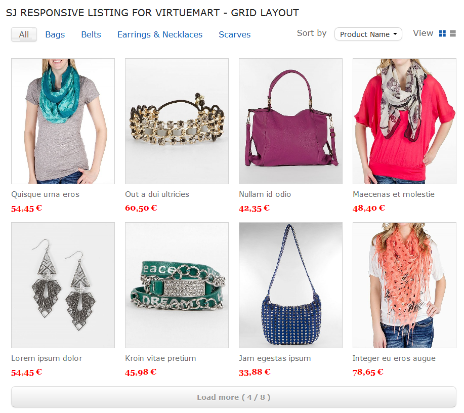 SJ Responsive Listing for VirtueMart - Joomla! Module - 02-grid-layout2.png