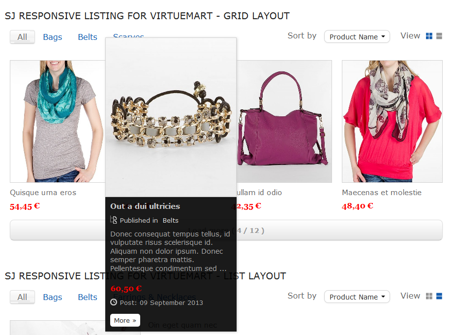 SJ Responsive Listing for VirtueMart - Joomla! Module - 03-grid-layout3.png