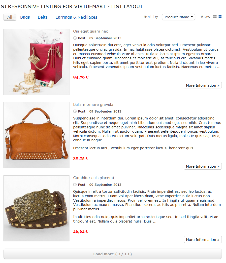 SJ Responsive Listing for VirtueMart - Joomla! Module - 04-listing-layout1.png