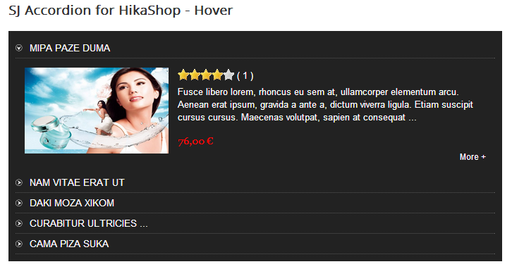 SJ Accordion for HikaShop - Joomla! Module - 1hover.png