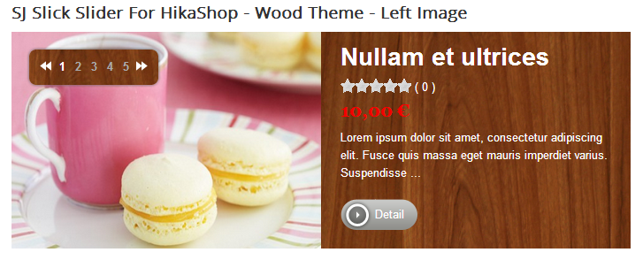SJ Slick Slider for HikaShop - Joomla! Module - 1woodleft.png