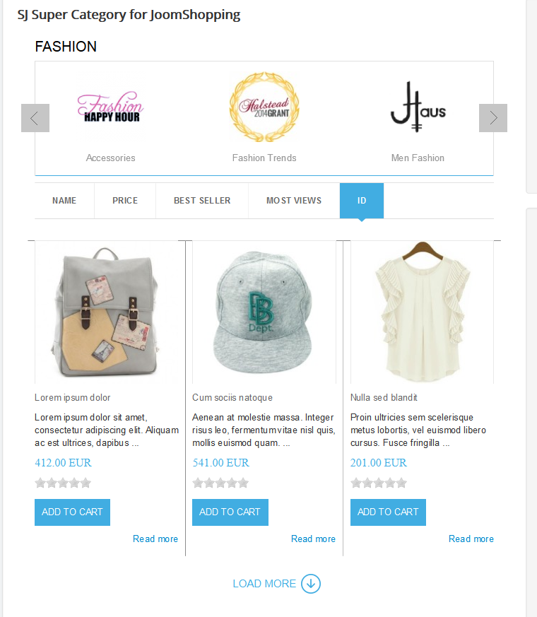 SJ Super Category for JoomShopping - Responsive Joomla! Module - 1.png
