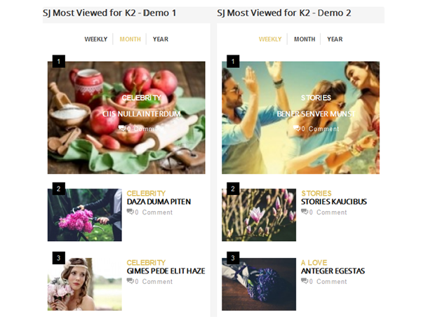 SJ Most Viewed for K2 - Responsive Joomla! Module - 01.png