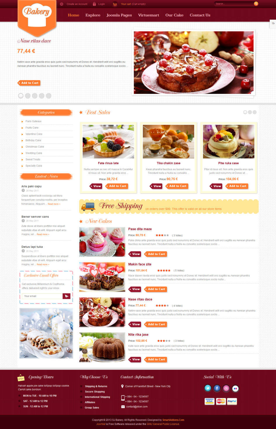 SJ Bakery - Responsive Joomla Bakery shops Template - 1-index.png