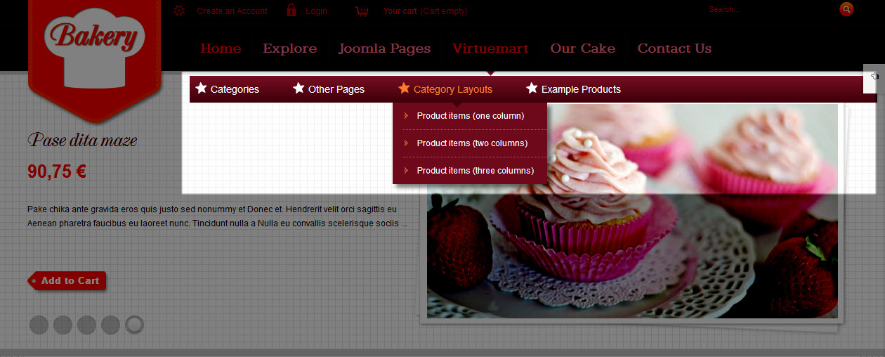 SJ Bakery - Responsive Joomla Bakery shops Template - 9dropdown-menu.jpg