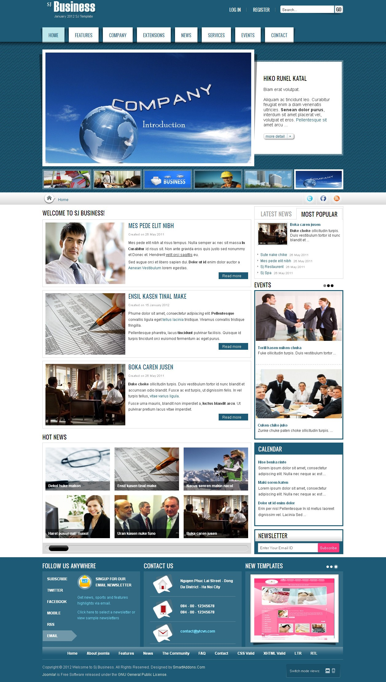 SJ Business - Joomla Business Template - 1.jpg