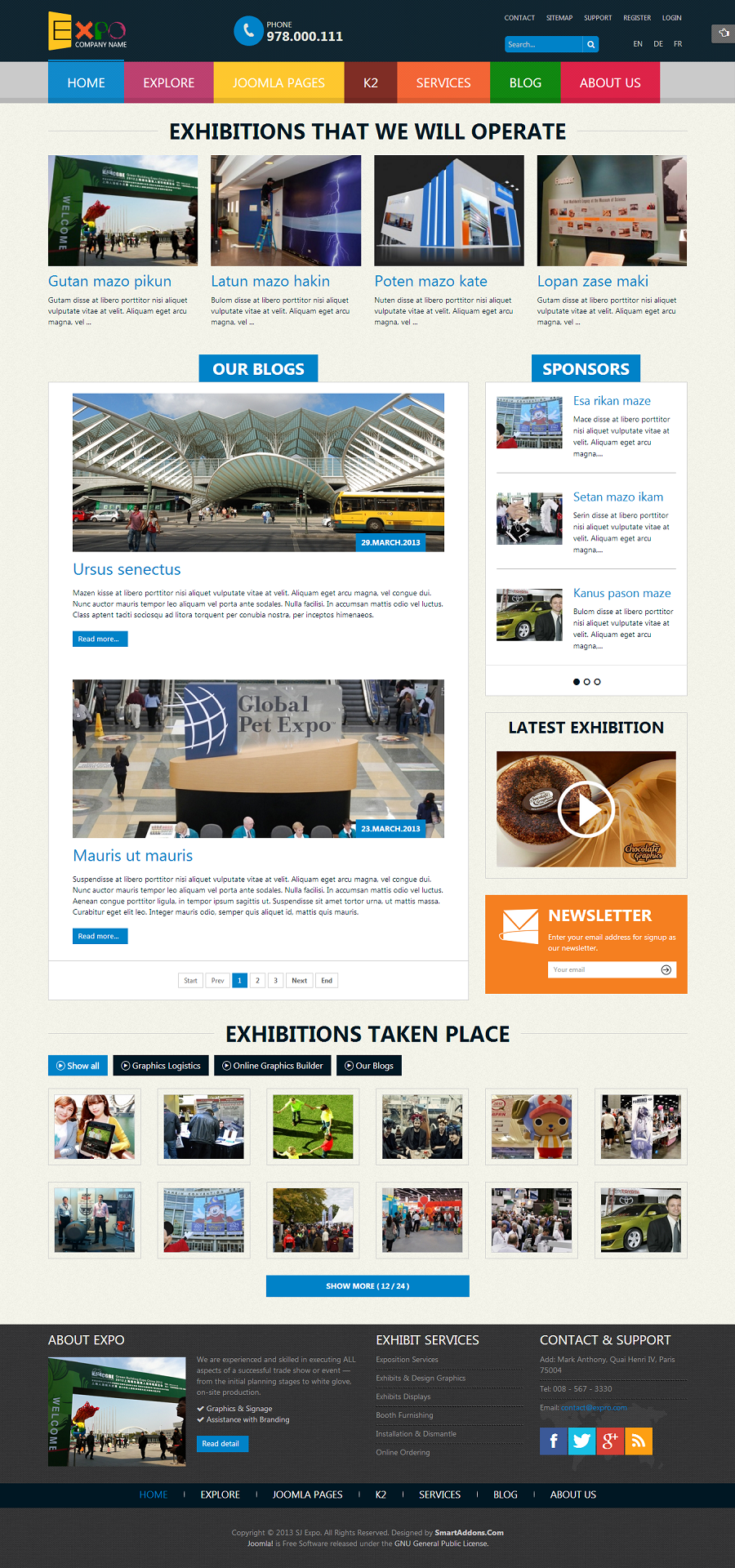SJ Expo - Responsive Joomla Template - 01index.png