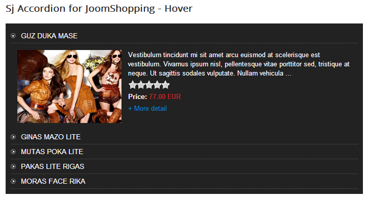 SJ Accordion for JoomShopping - Joomla! Module - hover.png