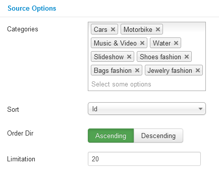 SJ Categories Slider for JoomShopping - Joomla! Module - source-option.png
