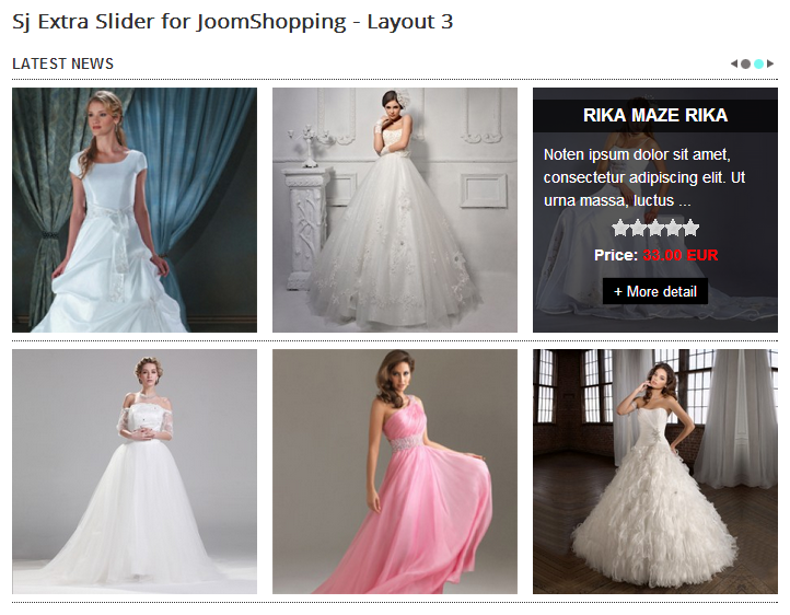 SJ Extra Slider for JoomShopping - Joomla! Module - layout3.png