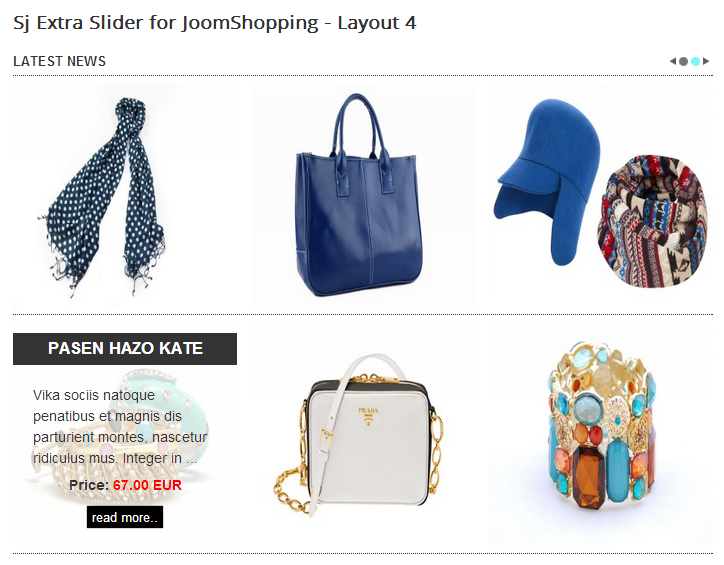 SJ Extra Slider for JoomShopping - Joomla! Module - layout4.png