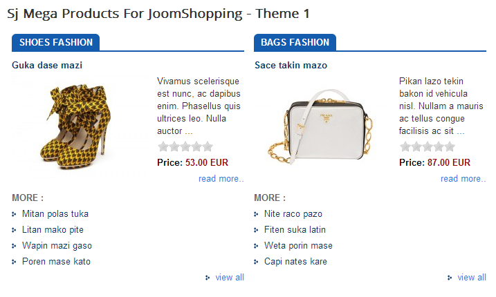 SJ Mega Product for JoomShopping - Joomla! Module - 01hor.png