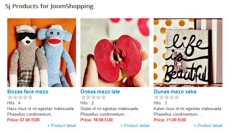 SJ Products for JoomShopping -  Free Joomla! Module - 1layout.png