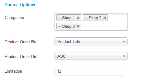 SJ Products for JoomShopping -  Free Joomla! Module - 5source-options.png