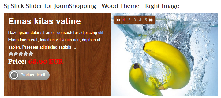 SJ Slick Slider for JoomShopping - Joomla! Module - 01woodthemeright.png
