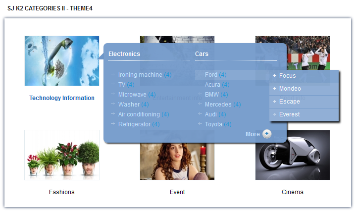 SJ Categories II for K2 - Joomla! Module - 4theme4.png