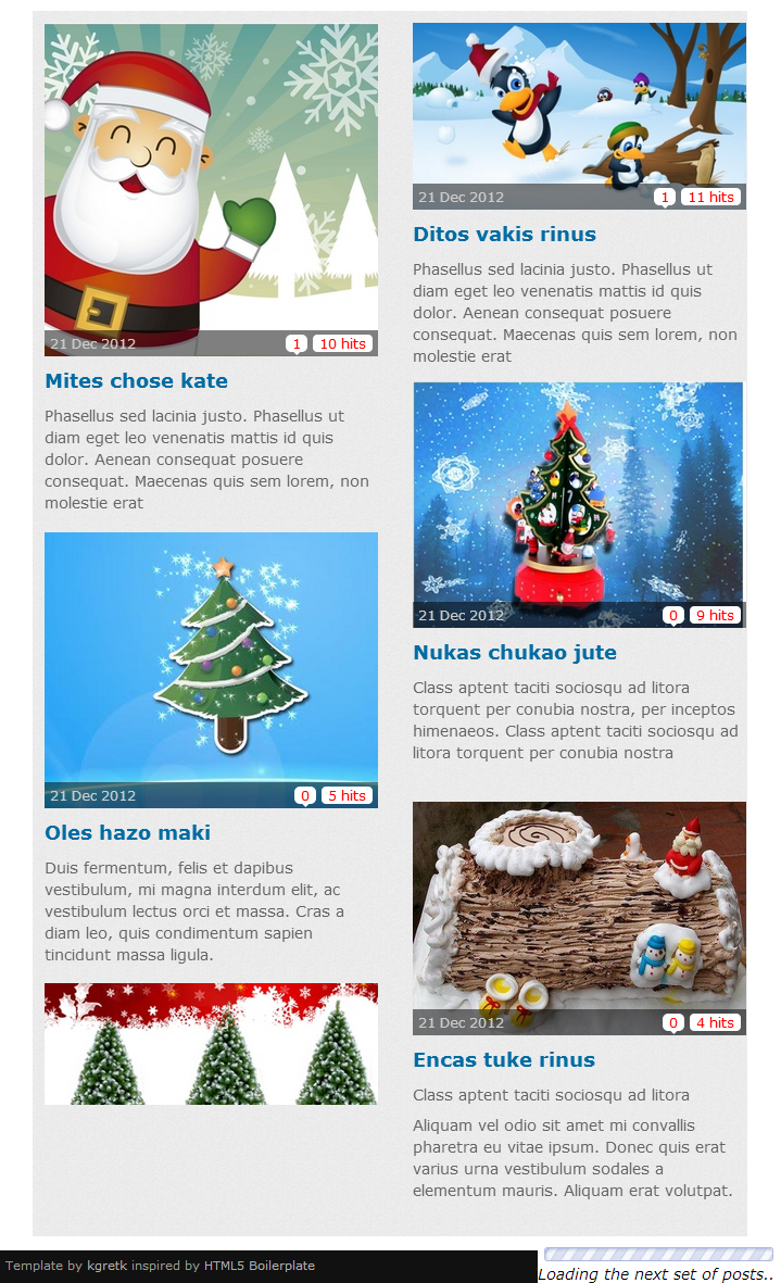 SJ Responsive Content for K2 - Joomla! Module - 01layout.png