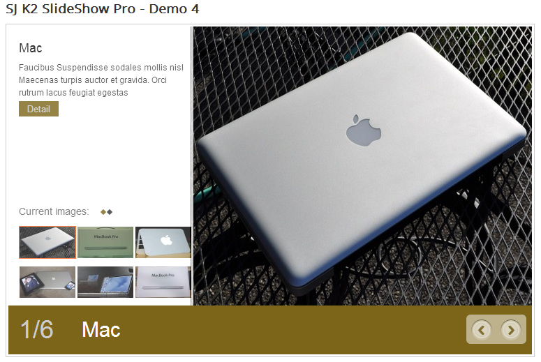 SJ Slideshow Pro for K2 - Joomla! Module - 4Demo4.png